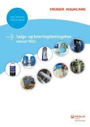Salgs- og leveringsbetingelser - Krüger A/S