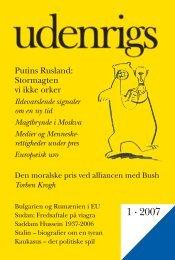 1 · 2007 - Udenrigs