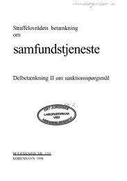Betænkning 1211 om samfundstjeneste - 1990 - Krim