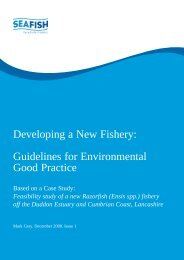 Developing a New Fishery: Guidelines for Environmental ... - Seafish
