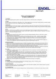 Generelle salgs- og leveringsbetingelser