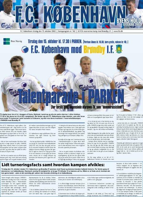 Kampprogram FCK2-BIF2(Kræver Adobe Acrobat ... - FC København