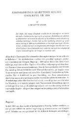 Ærøskøbings maritime miljø omkring år 1800 - Handels- og ...