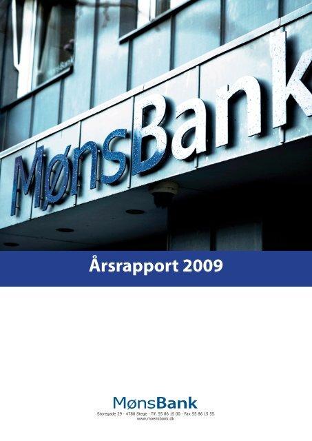 Årsrapport 2009 - Møns Bank