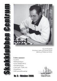 Klubblad nr. 5/2006 - Skakklubben Centrum
