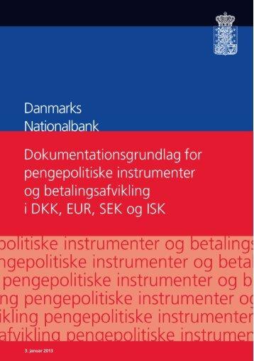 Nationalbankens kontobestemmelser