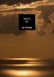 åRSRAPPORT 2007 - Torm