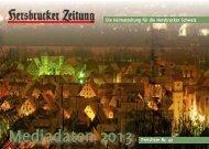 aktuelle Anzeigenpreisliste der Hersbrucker Zeitung - N-Land