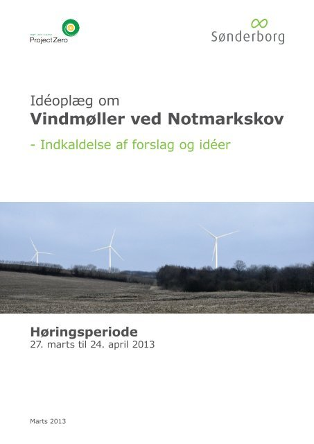 Idéoplæg om vindmøller ved Notmarkskov - Sønderborg Kommune