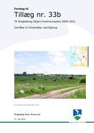 Tillæg nr. 33b til Ringkøbing-Skjern Kommuneplan 2009 ... - Noatun