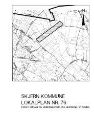 SKJERN KOMMUNE LOKALPLAN NR. 76 - Ringkøbing-Skjern ...