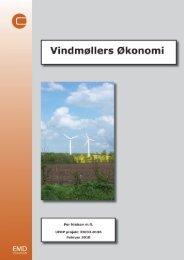Vindmøllers økonomi; UEDP 33033-0196 - EMD International AS.