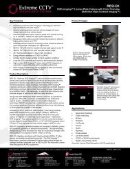 REG-D1 DHC-Imaging™ License Plate Capture with Color Overview