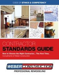 contractor standards guide