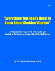 """""""Everything You Really Need To Know About Shaklee Vitalizer"""""""