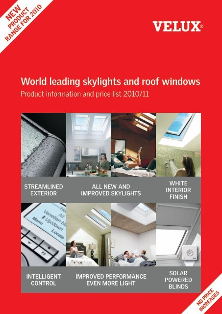 World leading skylights and roof windows - Velux