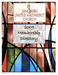 2009 Membership Directory