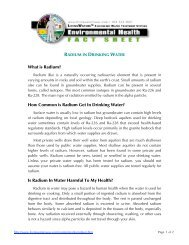 What is Radium? How Common is Radium Get In Drinking Water? Is ...