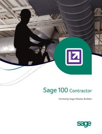 Formerly Sage Master Builder