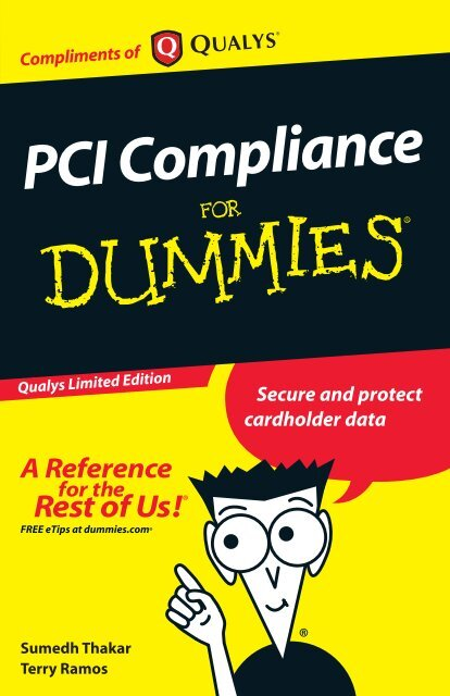 PCI Compliance For Dummies - Progressivemediagroup
