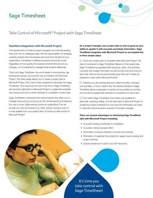 Sage Timesheet