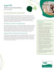 Download spec sheet (PDF) - Sage