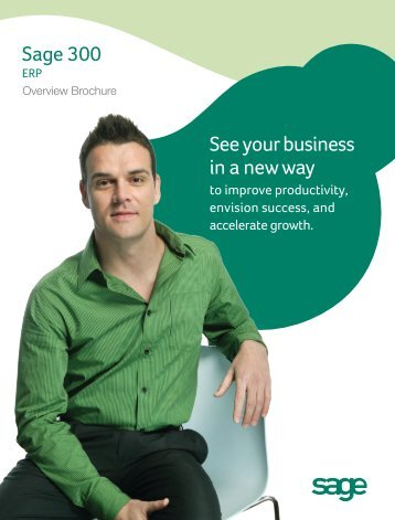 Sage 300 ERP Overview Brochure