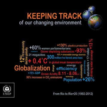 Keeping Track of Our Changing Environment - UNEP