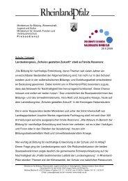 herunterladen - Bildung für nachhaltige Entwicklung Rheinland-Pfalz