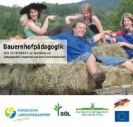 Bauernhofpädagogik - Landwirtschaftskammer Rheinland-Pfalz