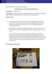 Planung Stunden Materia Farben, Geplante 1. S 2. 3. d Z S v v M17 ...