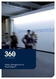 Management von Nachhaltigkeit