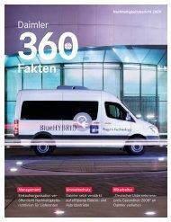 360 GRAD - Fakten zur Nachhaltigkeit 2009 - Daimler ...