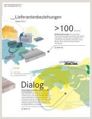 Lieferantenbeziehungen - Daimler Nachhaltigkeitsbericht 2012.