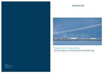 Daimler: Shaping Future Transportation