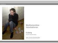 Intoxikation - Fortbildungsveranstaltung für Notärzte im ...