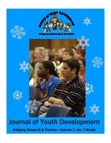 Winter 2008 - Vol. 3 No. 3 - National Association of Extension 4-H ...
