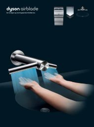 Download en brochure - Dyson Airblade