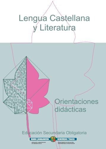 Lengua Castellana y Literatura - Nagusia
