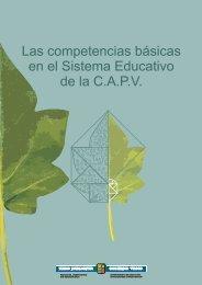 Las competencias básicas en el Sistema Educativo de la ... - nagusia