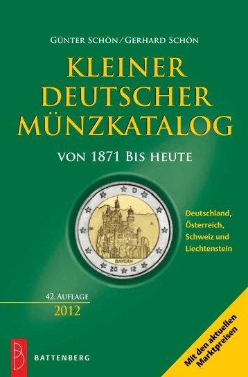 KLEINER DEUTSCHER MÜNZKATALOG KLEINER ... - Gietl Verlag