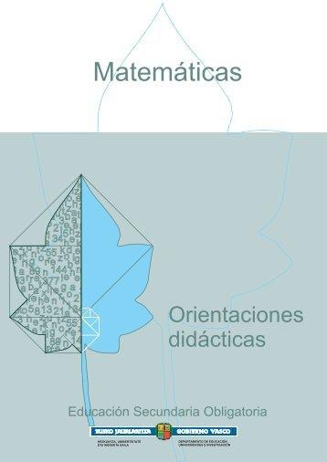 Matemáticas - Nagusia