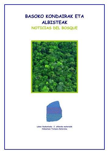 noticias del bosque - Nagusia