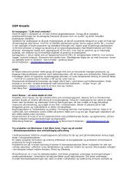 COP Kreativ - Arkitektskolen Aarhus