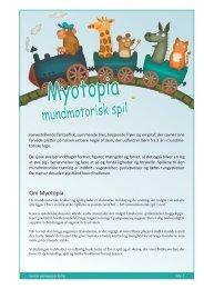 Vejledning til Myotopia - spf – nyheder . dk