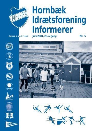 Hornbæk Idrætsforening Informerer - 3100.dk