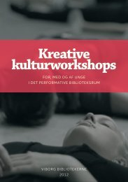 Projektrapport (kkw-rapport.pdf) - Kulturstyrelsen