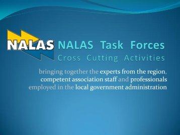 Zoran Gligorov: NALAS Cross Cutting Activities