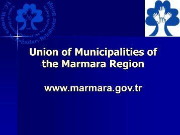 Union of Municipalities of the Marmara Region - Nalas