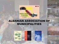 ALBANIAN ASSOCIATION OF MUNICIPALITIES - Nalas